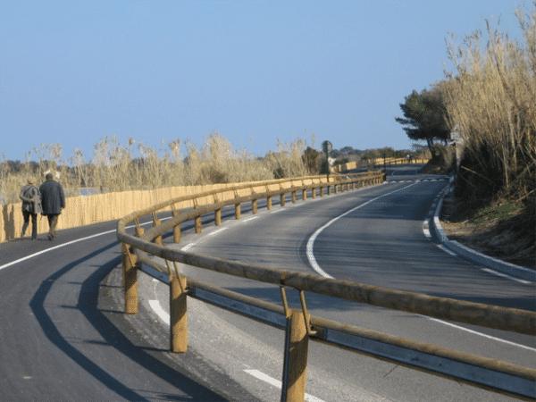 Rehausse main courante sécurité glissière bois-métal