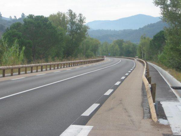 Securité routière - glissière bois-métal- T22 4ms2