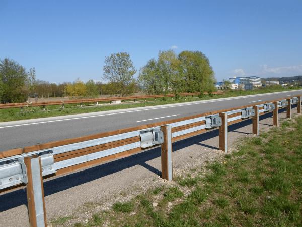 Sécurité routière - glissière bois-métal - T40