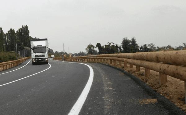 Sécurité routière-glissière bois-métal-T40