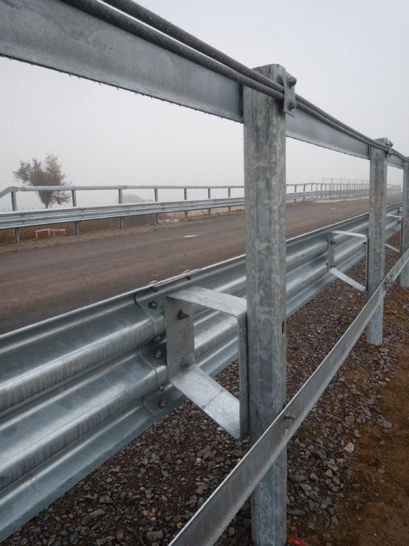 Barrière métallique H3 W5 Marcegaglia