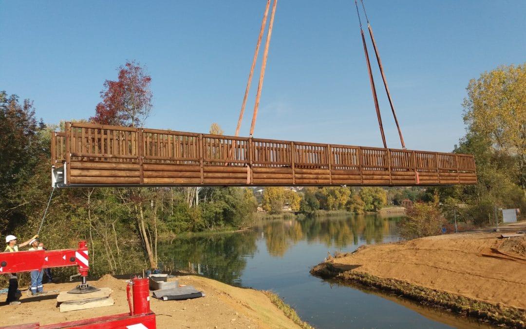 Restauration de la continuité du plan d'eau de Chamalan à la Saône – Quincieux-69