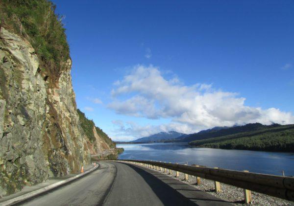 Glissière de sécurité bois-métal T40 QUEULAT -Chili