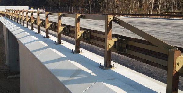 Barrière de sécurité bois-métal T40 BP