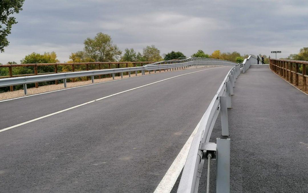 Inauguration du Pont de Cattenom-Koenigsmacker en Moselle