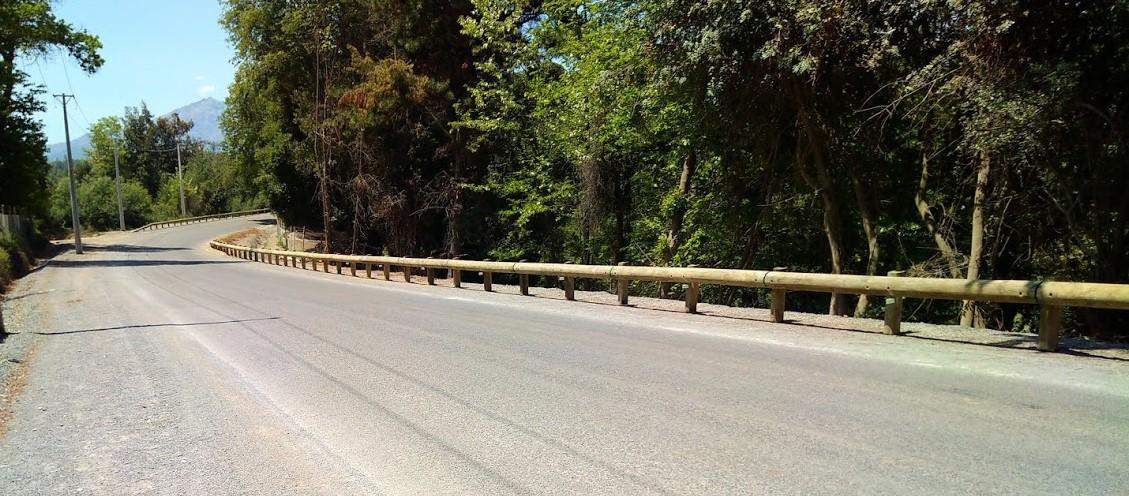 Barrera de seguridad vial T22