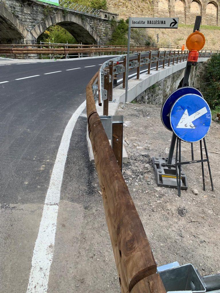 Wood & steel guardrail Italia