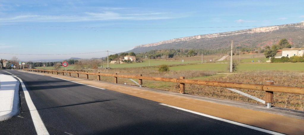 Route départementale sécurité