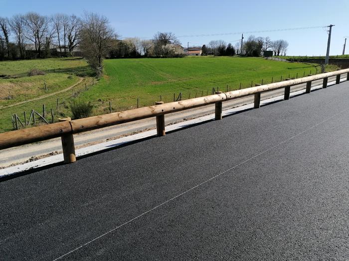 Les glissières bois-métal Tertu équipent le contournement Saint-Michel-Mont-Mercure